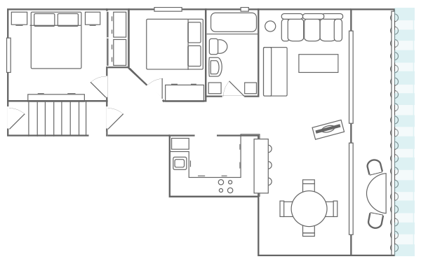 Holiday Apartment Floor Plan