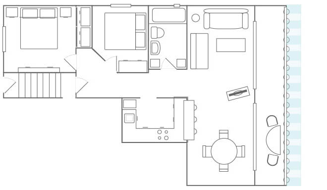 Malaga Apartment Floor Plan